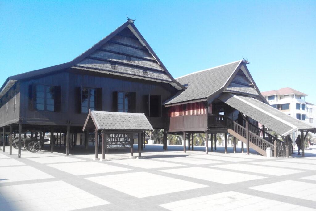 Istana Balla Lompoa di Kabupaten Gowa