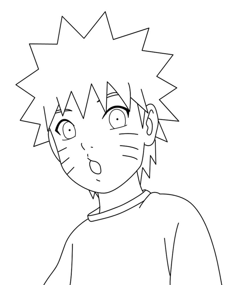 Wajah Imut Naruto Kecil dan manis