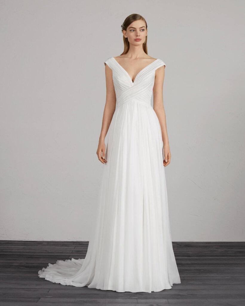 Natural Waist Dress Cantik dan Putri Anggun
