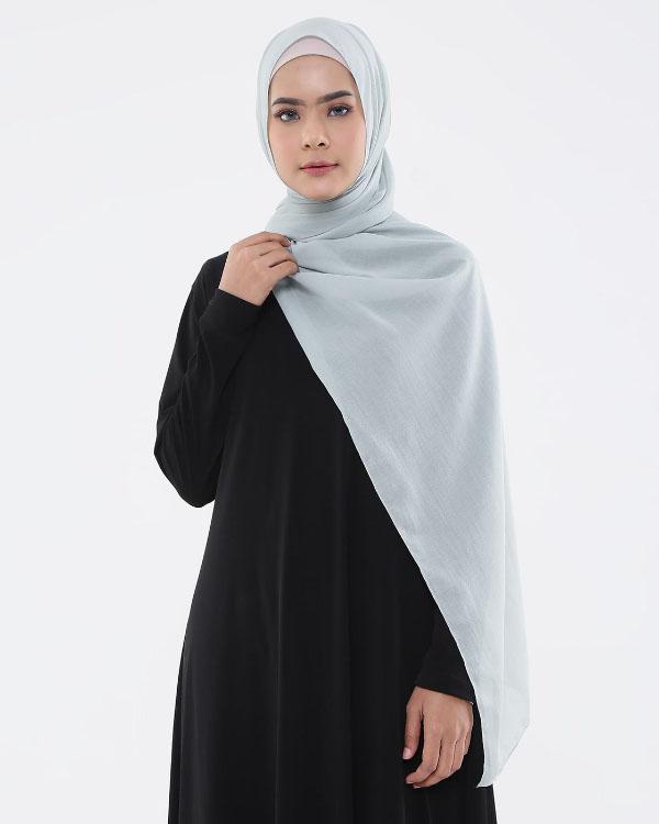 JIlbab Abu Abu warna HItam dan Nude Gamis Hitam