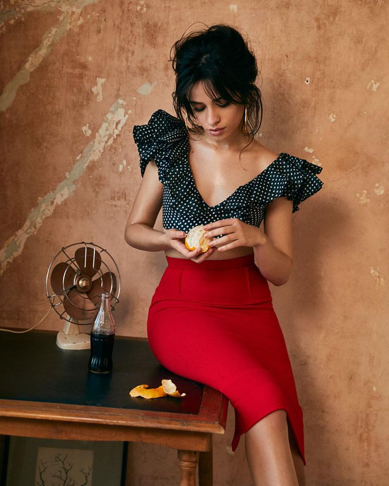 Camila Cabeloo artis seksi Latin