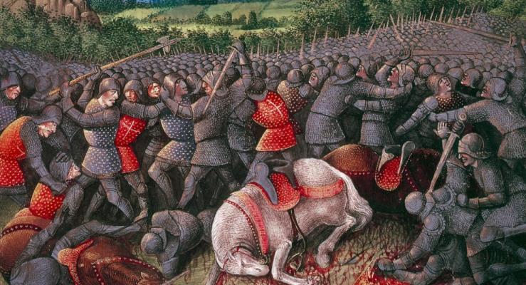Suasan Perang Salib IV dan Kematian Alexsiox