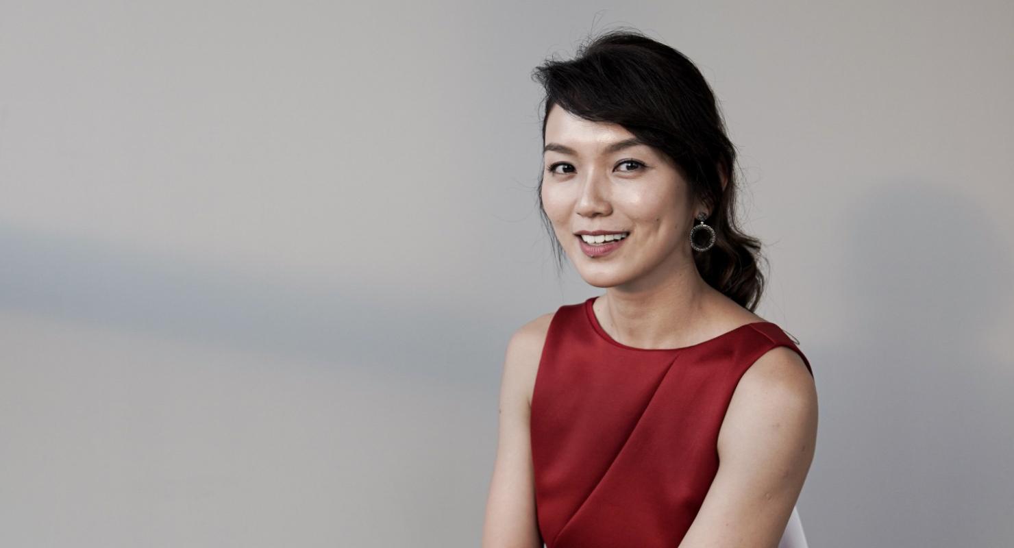 Artis cantik dan manis Singapura Joanne Peh