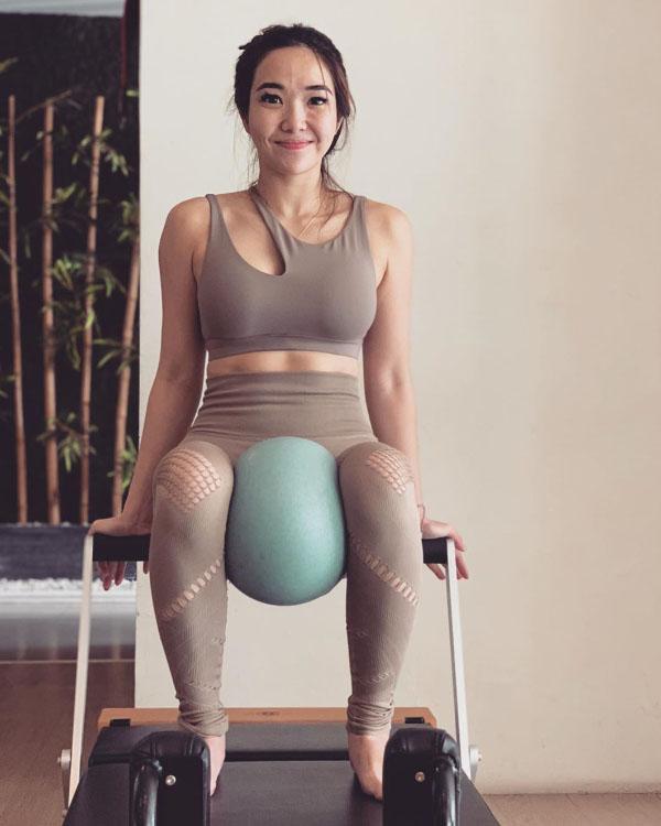 Gisella Anastasia janda seksi rutin nge gym