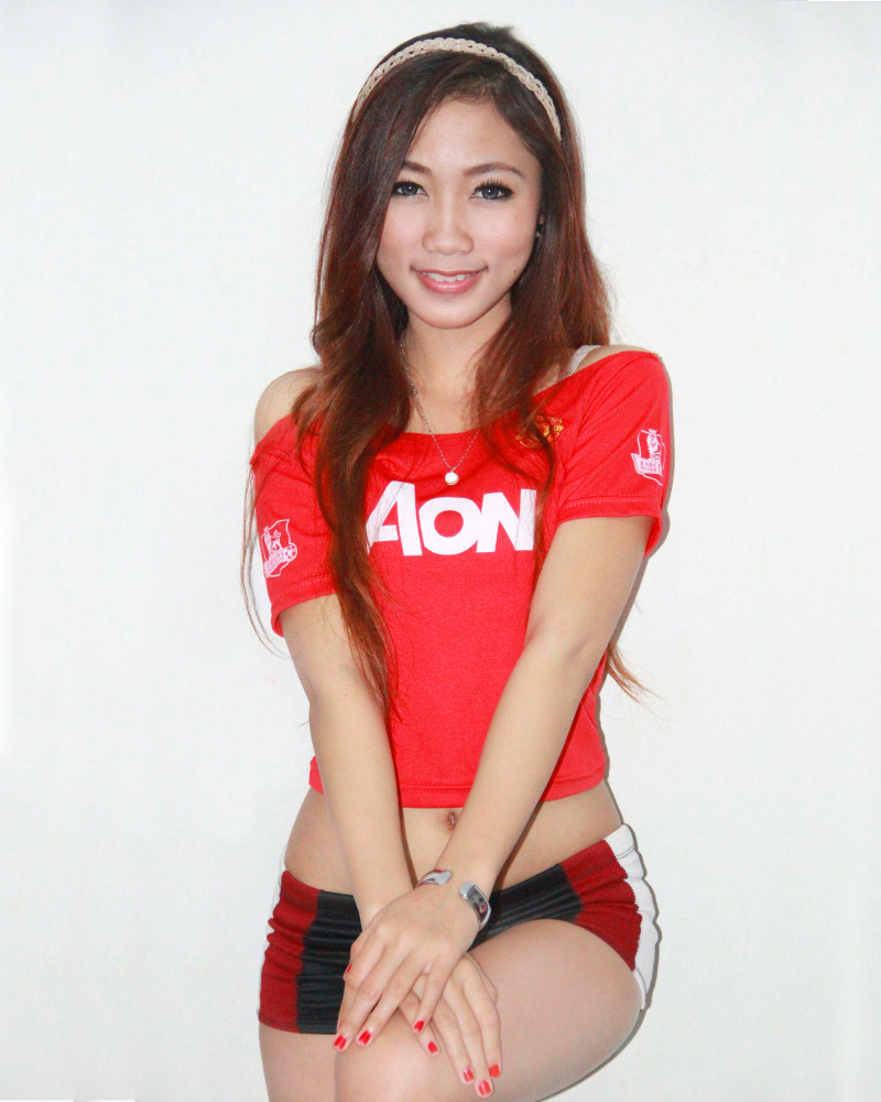 CEwek manis Pendukung Manchester United