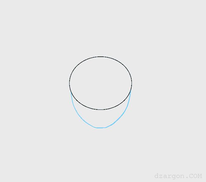 Cara Menggambar Wajah Sketsa Naruto wajah