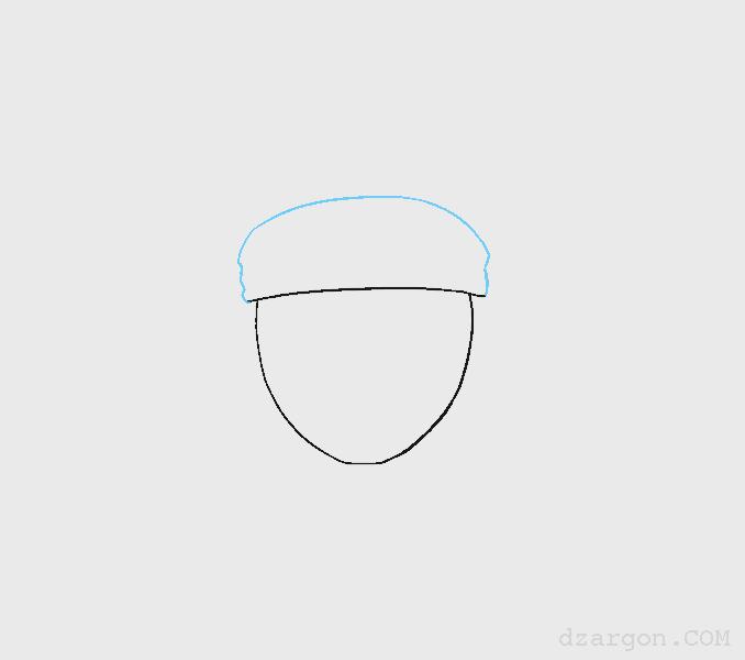 Cara Menggambar Wajah Sketsa Naruto membantu ikat kepala