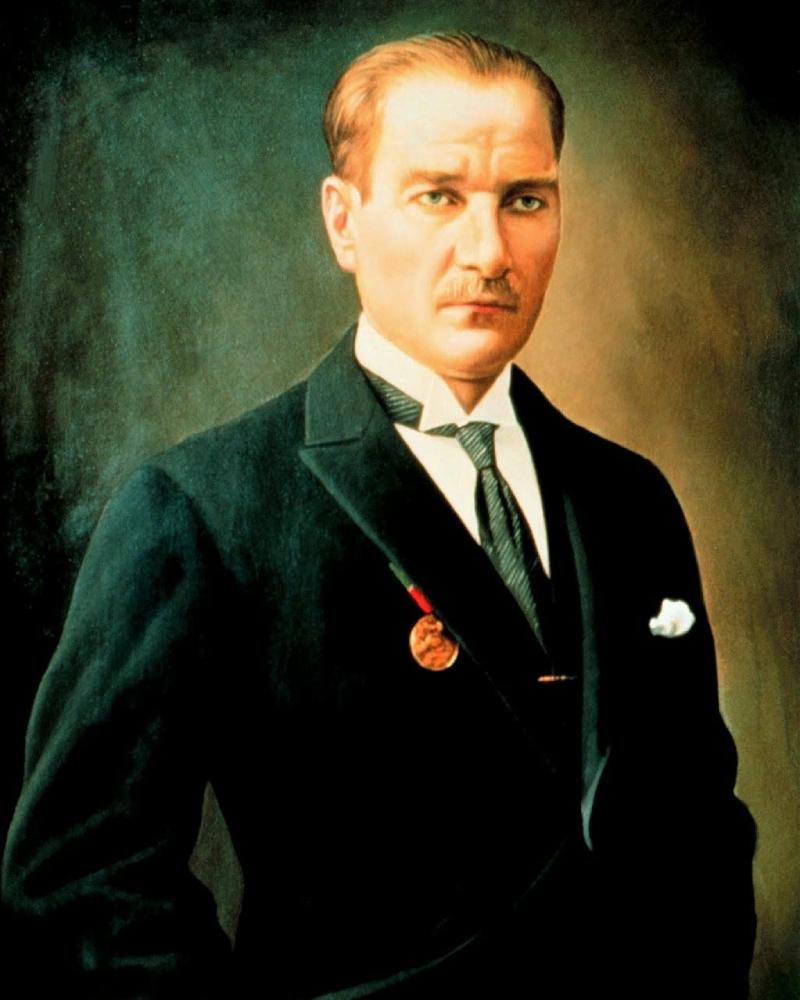 Mustafa Kemal Atartuk Presiden Pertaam Turki