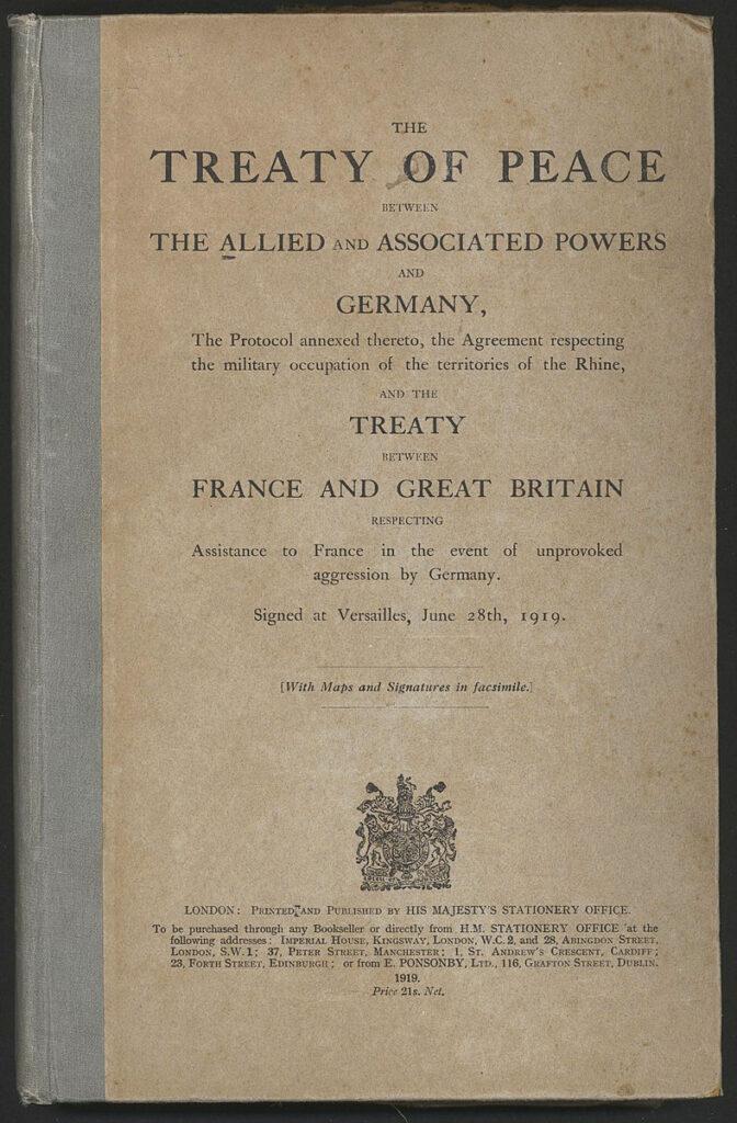 Sampul Perjanjian Versaille
