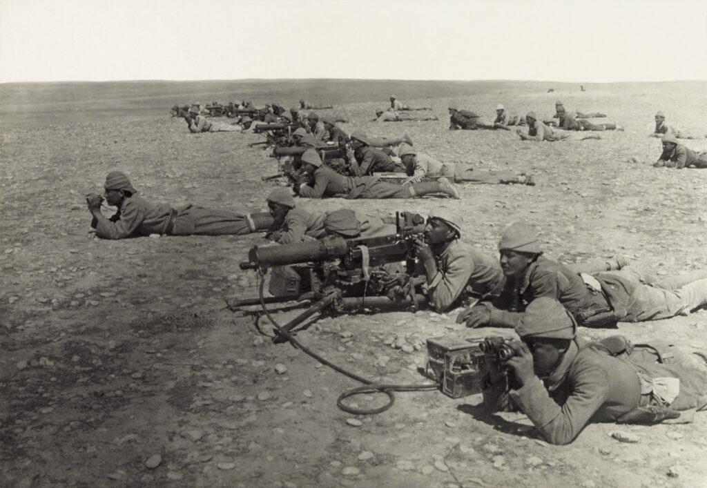 Suasan Perang Dunia I antara Inggris dan Ottoman di Palestina