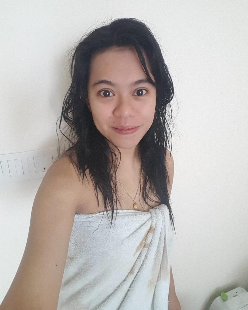 Ani Ani Gundik selife cantik habis mandi